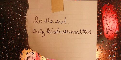 Embrace a kind life