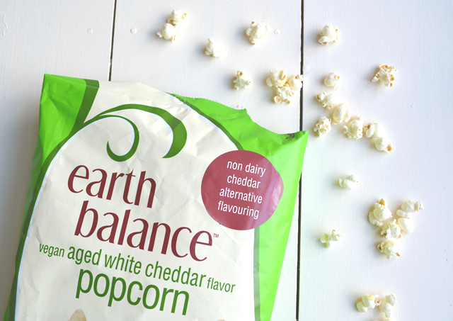 Earth Balace White Cheddar Popcorn