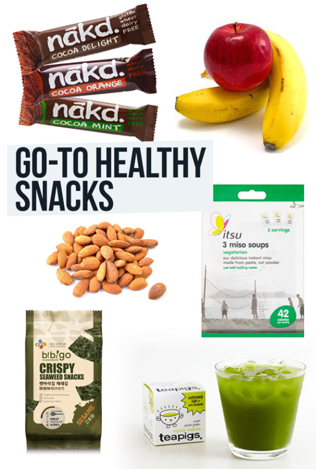My Go-To Healthy Snacks