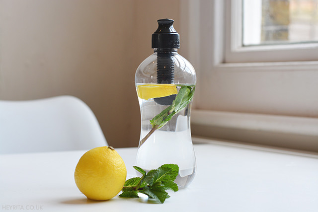 Lemon-Infuse Water In My Bobble