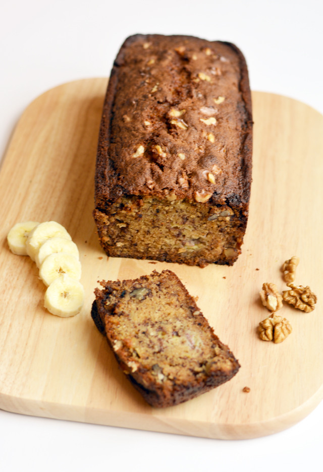Banana Walnut Loaf